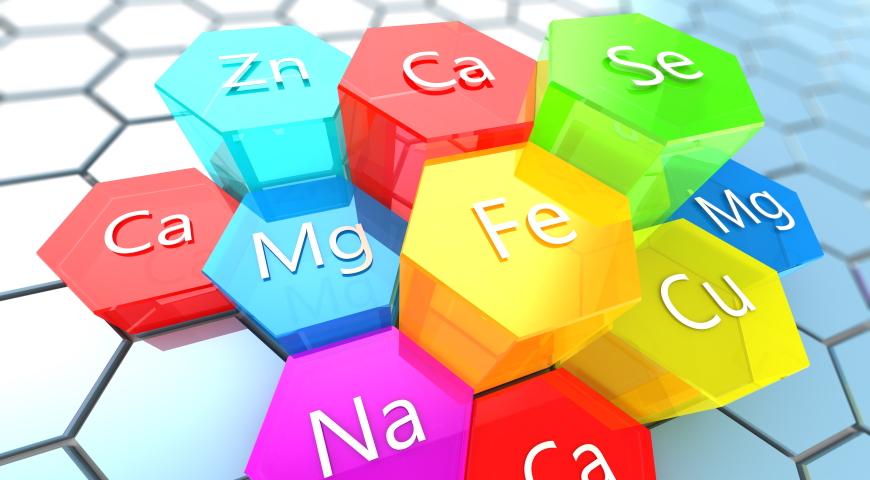 Makroelementy i pierwiastki