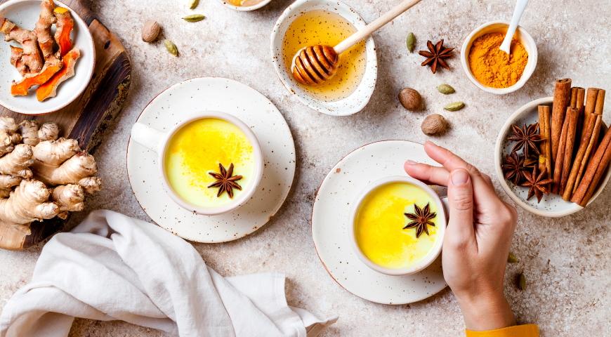 Złote mleko – napój na odporność